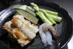 天丼作り体験